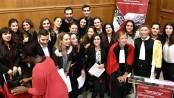 Les étudiants de la 26ème promotion ont été accueillis par Gil Charbonnier et Dominique Augey