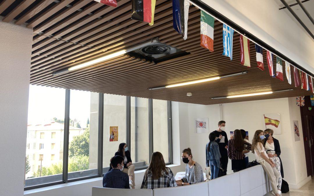 Le café délie les langues à Aix-Marseille Université
